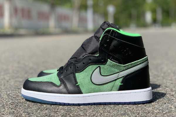 "2020 Air Jordan 1 High Zoom ""Rage Green"" CK6637-002 For Sale"