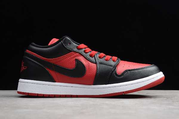 553558-610 Air Jordan 1 Retro Low Gym Red Men' s and Women' s Size For Sale