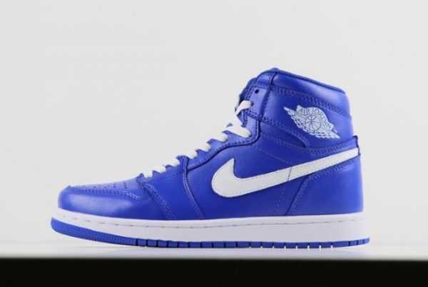 2018 Air Jordan 1 Retro High OG ' e Got Game' Hyper Royal/Sail 555088-401 For Sale