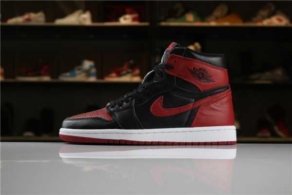 "2018 Air Jordan 1 Retro High OG ""Homage To Home"" Black/White-University Red For Sale"