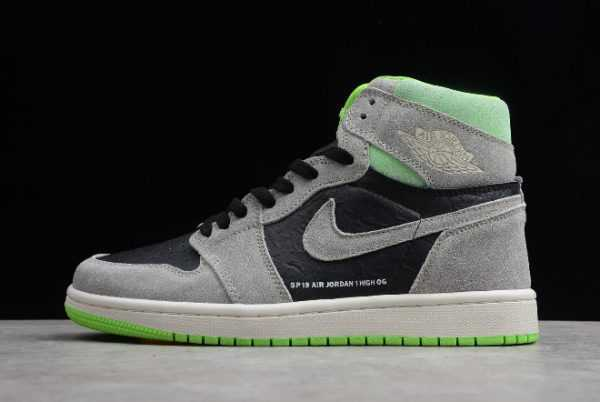 New Air Jordan 1 Retro High OG Neutral Grey/Gunsmoke-Volt