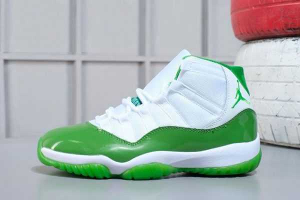 2018 Air Jordan 11 Apple Green/White M07105634 Online Sale