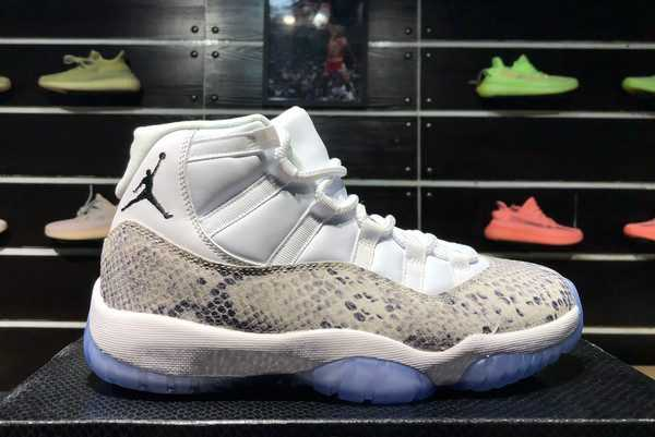 White Snakeskin Air Jordan 11 Retro Prem HC 378037-103 For Sale
