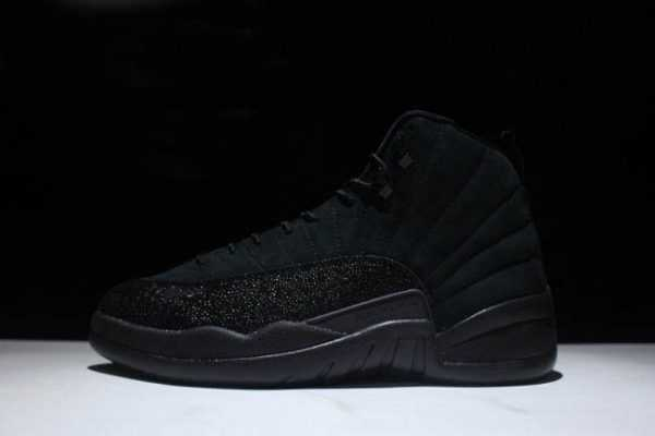 Nike Air Jordan 12s Retro ' VO Black' Black/Metallic Gold 873864-032