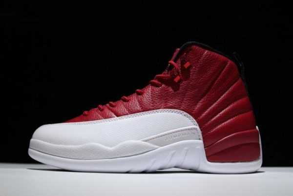 Air Jordan 12 ' lternate' Gym Red/Black-White 130690-600 Mens Sneakers
