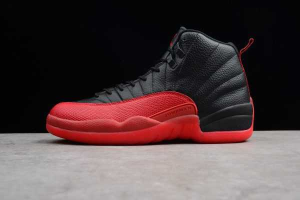 "Air Jordan 12 Retro ""Flu Game"" Black/Varsity Red 130690-002"