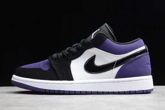 Air Jordan 1 Low Court Purple On Sale 553558-125
