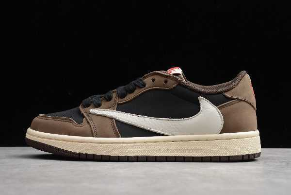 2019 Travis Scott x Air Jordan 1 Low OG SP ' ark Mocha' CQ4277-001