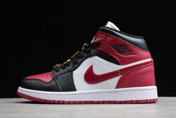 CZ4385-016 New 1985 Air Jordan 1 Mid AJ Black/Red 2020 For Sale