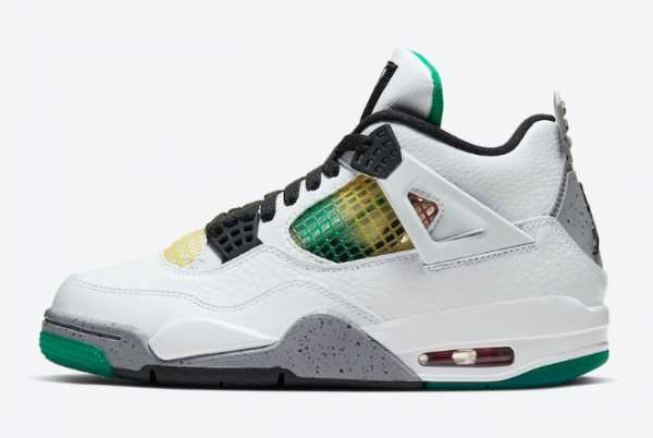 "2020 New Air Jordan 4 ""Rasta"" AQ9129-100 For Sale"