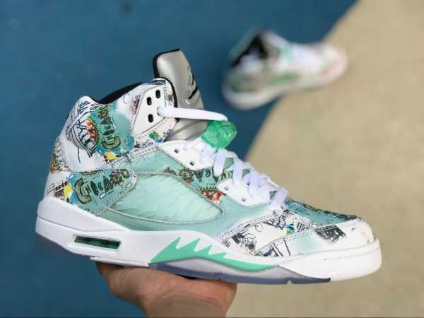 2018 Mens Air Jordan 5 ' ings' Multi-Color AV2405-900 For Sale
