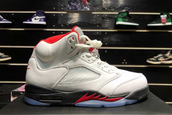2020 Cheap Air Jordan 5 Fire Red 3M Silver Tongue DA1911-102 For Sale