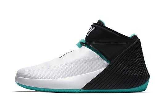 "Jordan Why Not Zer0.1 ""Noah"" White/Black-Emerald AQ9028-103"