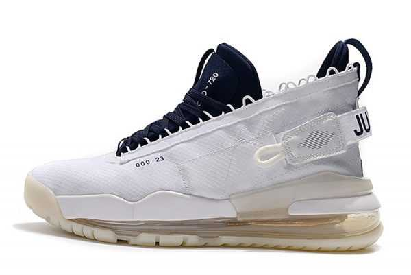 Mens Jordan Proto Max 720 White/Navy Blue For Sale