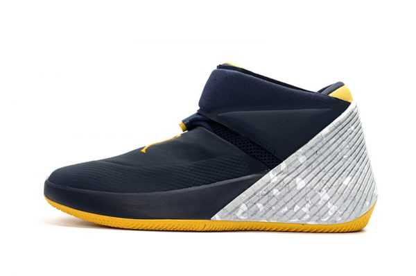 "Jordan Why Not Zer0.1 ""Michigan"" College Navy/Amarillo-White AA2510-405"